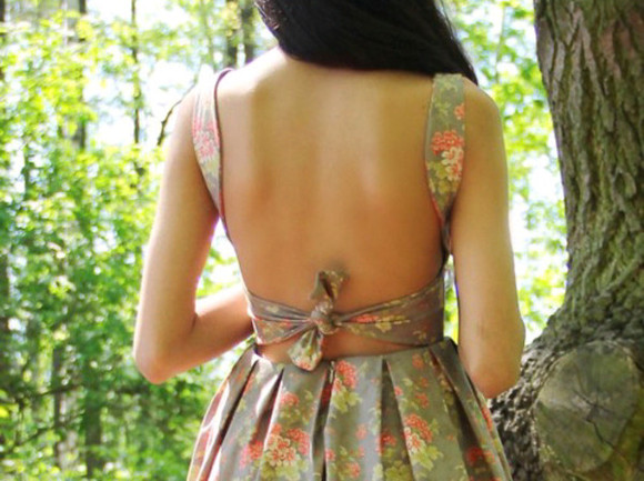 dress floral summer sundress