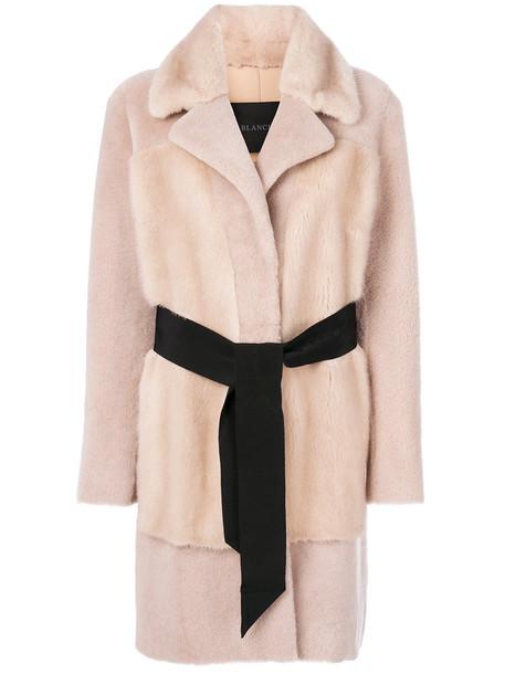BLANCHA coat fur women nude