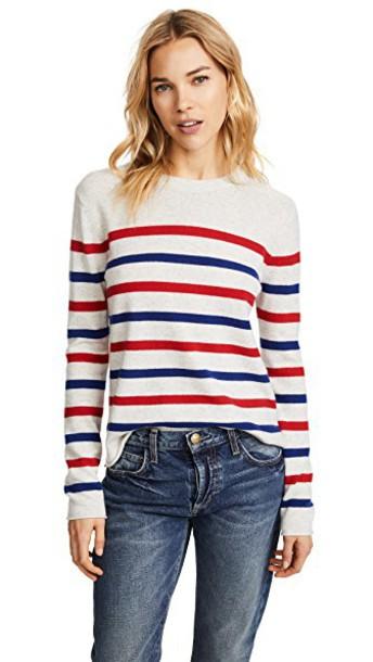 Velvet sweater