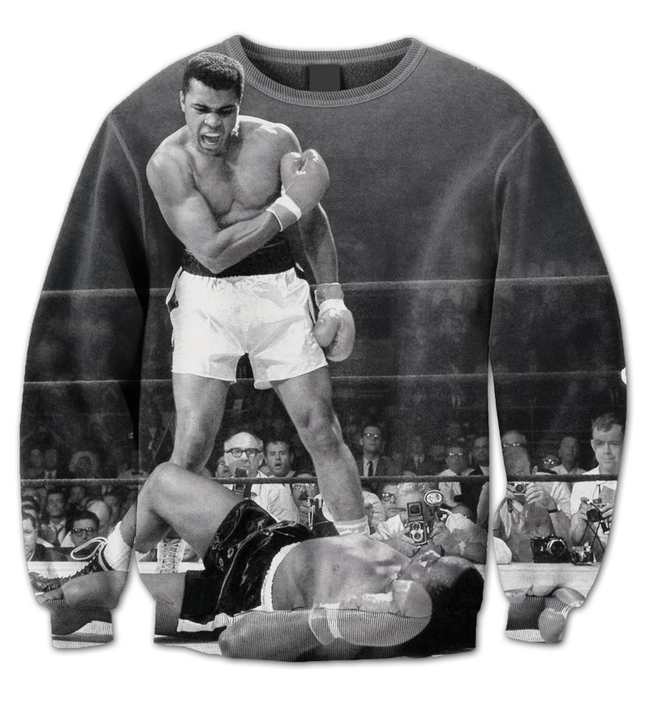 """Ali """"1965 victory"""" crewneck"""