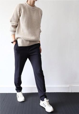cardigan jumper knitted cream