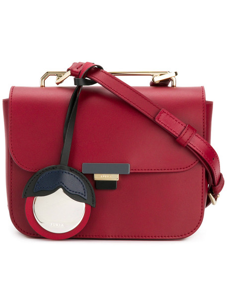 Furla women bag shoulder bag leather red