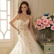 dress,sophia tolli,wedding dress,bridal gown,gold dress,ivory dress