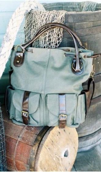 bag boho bag teal