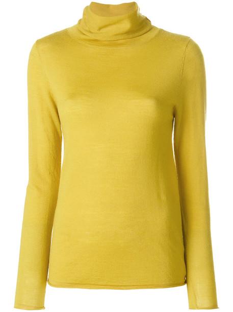Sottomettimi sweater knitted sweater women yellow orange