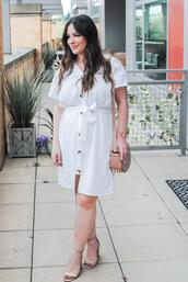currentlycoveting,blogger,dress,shoes,bag,jewels,white dress,sandals,shoulder bag,spring outfits