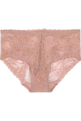 rose lace underwear