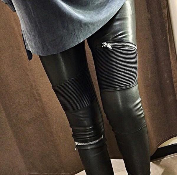 Toutes Legging 6gyb7f Effet Mios Zara Cuir Tcjklf1 Nn08OPwkX