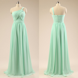 dress prom prom dress fashion fashion vibe fashionista style stylish love lovely pretty sweet chic vogue mint mint dress one shoulder special occasion dress long long dress long prom dress floor length dress evening dress long evening dress event bridesmaid cool amazing fabulous wow gorgeous trendy girly women girl maxi maxi dress