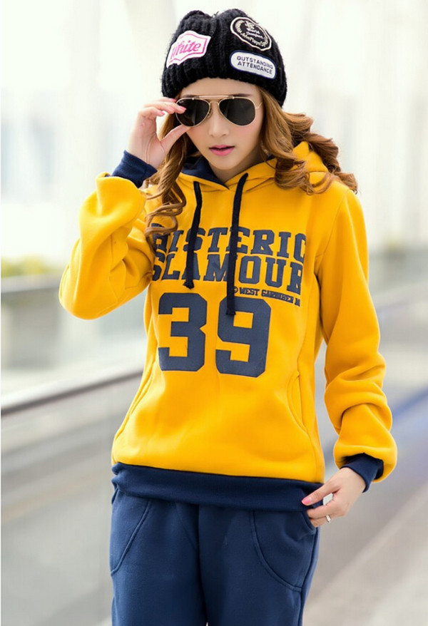 shirt hooded women letter print hooded new hooded 2014 fashion hooded 2014 2014 new arrival hoded