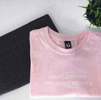 shirt drake hotline bling kanye west