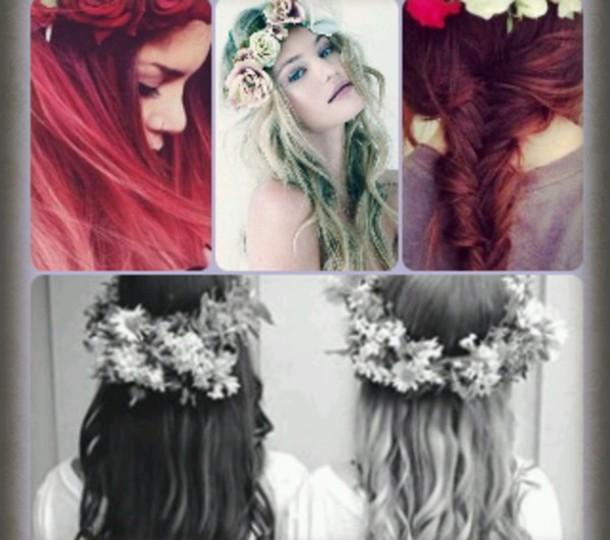 hair accessory fleur jolie ?l?gant mignon lovely