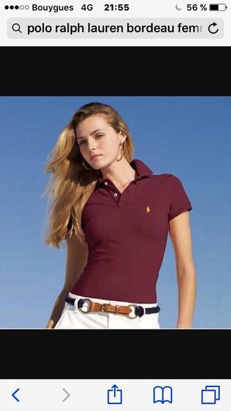 t-shirt bordeau ralph lauren ralph lauren femme polo shirt polo ralph lauren homme