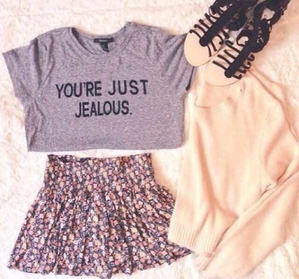 t-shirt cardigan