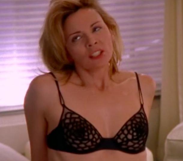underwear satc lingerie bra wornontv samanthajones sexandthecity