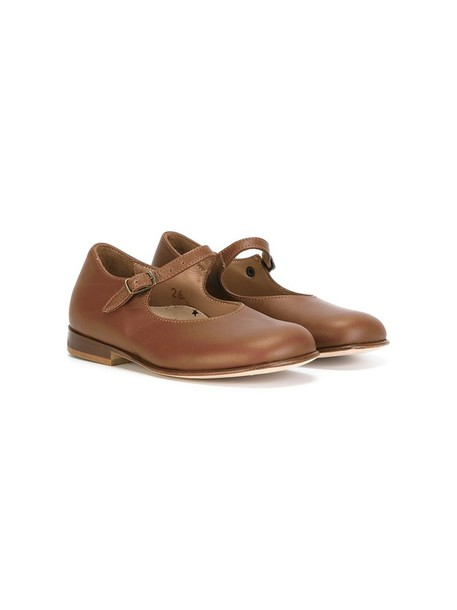 PePe girl classic brown shoes