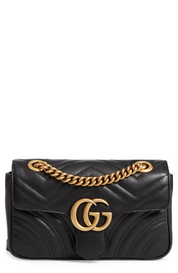 d42c4ada5b83 Gucci Mini GG Marmont 2.0 Matelassé Leather Shoulder Bag | Nordstrom
