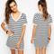 Casual striped shift dress – dream closet couture