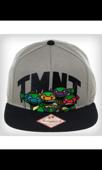 ninja turtles snapback hat