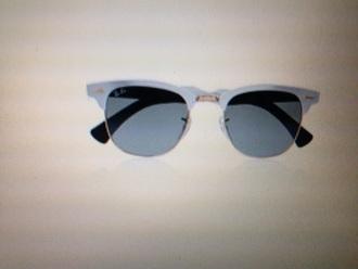 sunglasses black white gold golden grey frame frames glasses eye eyes summer sun