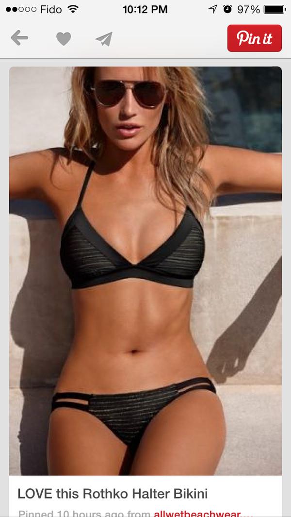 swimwear swimwear black swimwear black bikini black grey bikini