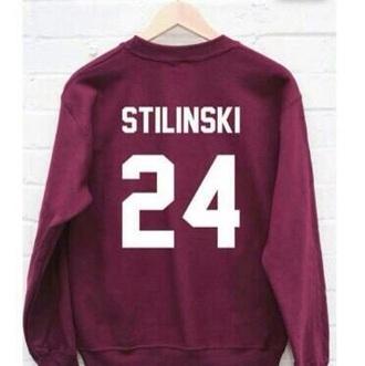 sweater teen wolf stiles