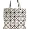 Bao bao issey miyake lucent tote, women's, grey, polyester/polyurethane/nylon/brass