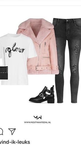 jacket mostwanted pink pinkjacket