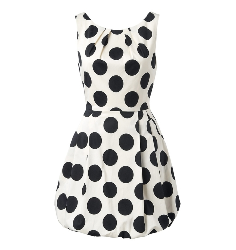 Sophia polka dot dress