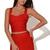 Red Vests - Bqueen Red Fashion Wild Slim | UsTrendy