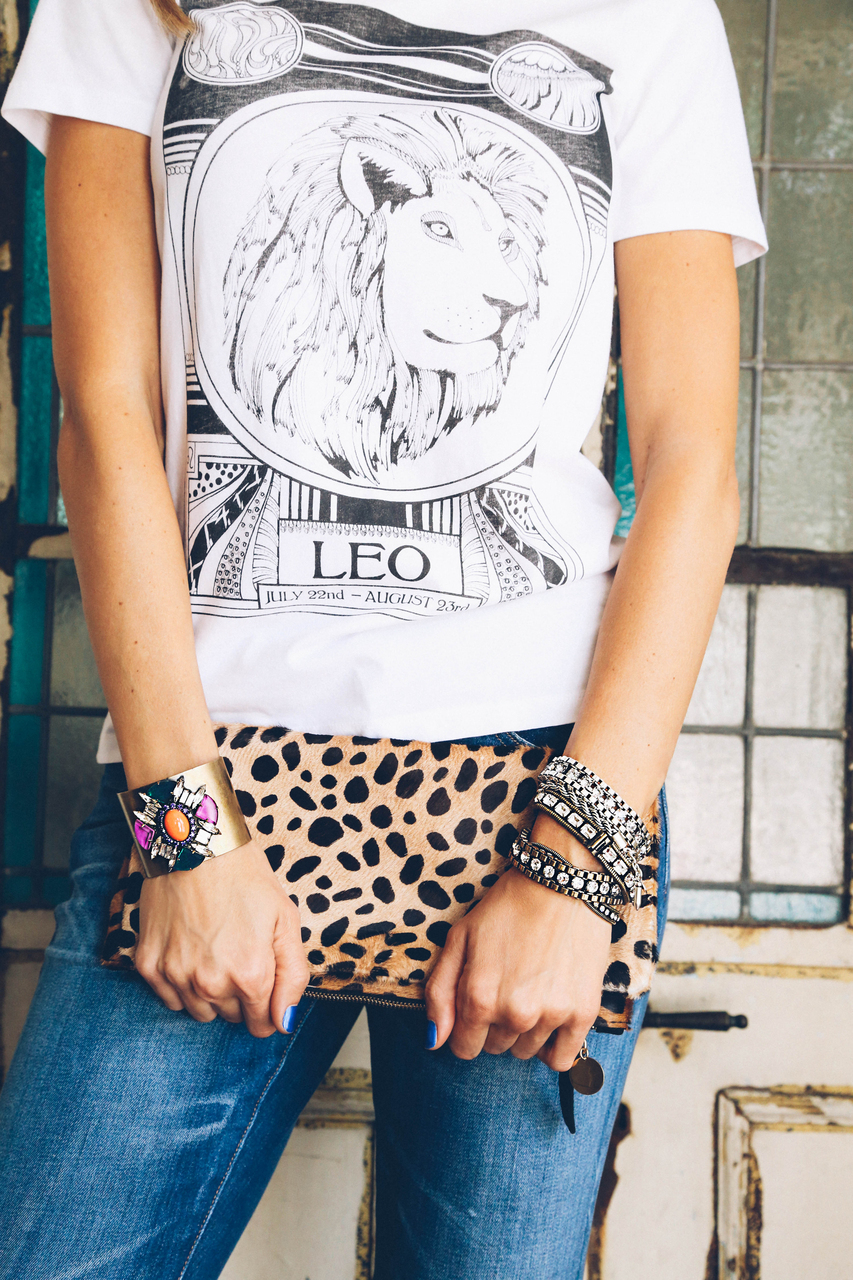 Carly bracelet in brass