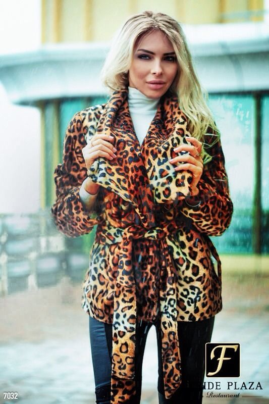 Womens Jacket Leopard Print Coat Autumn Trench Thicken Outwear Size M L 10 12 uk