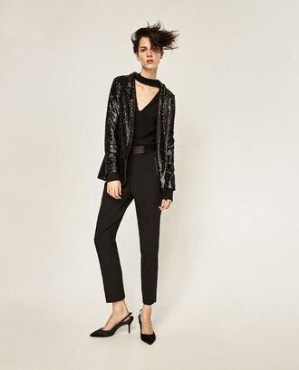 jacket sequins blazer