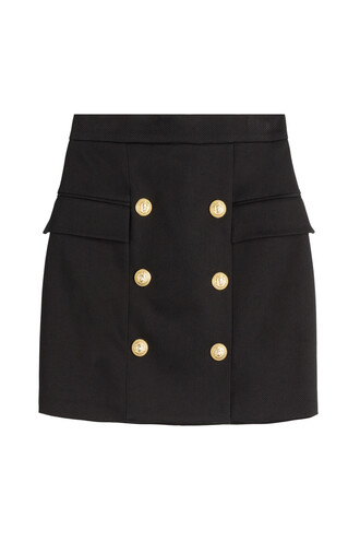 skirt cotton black