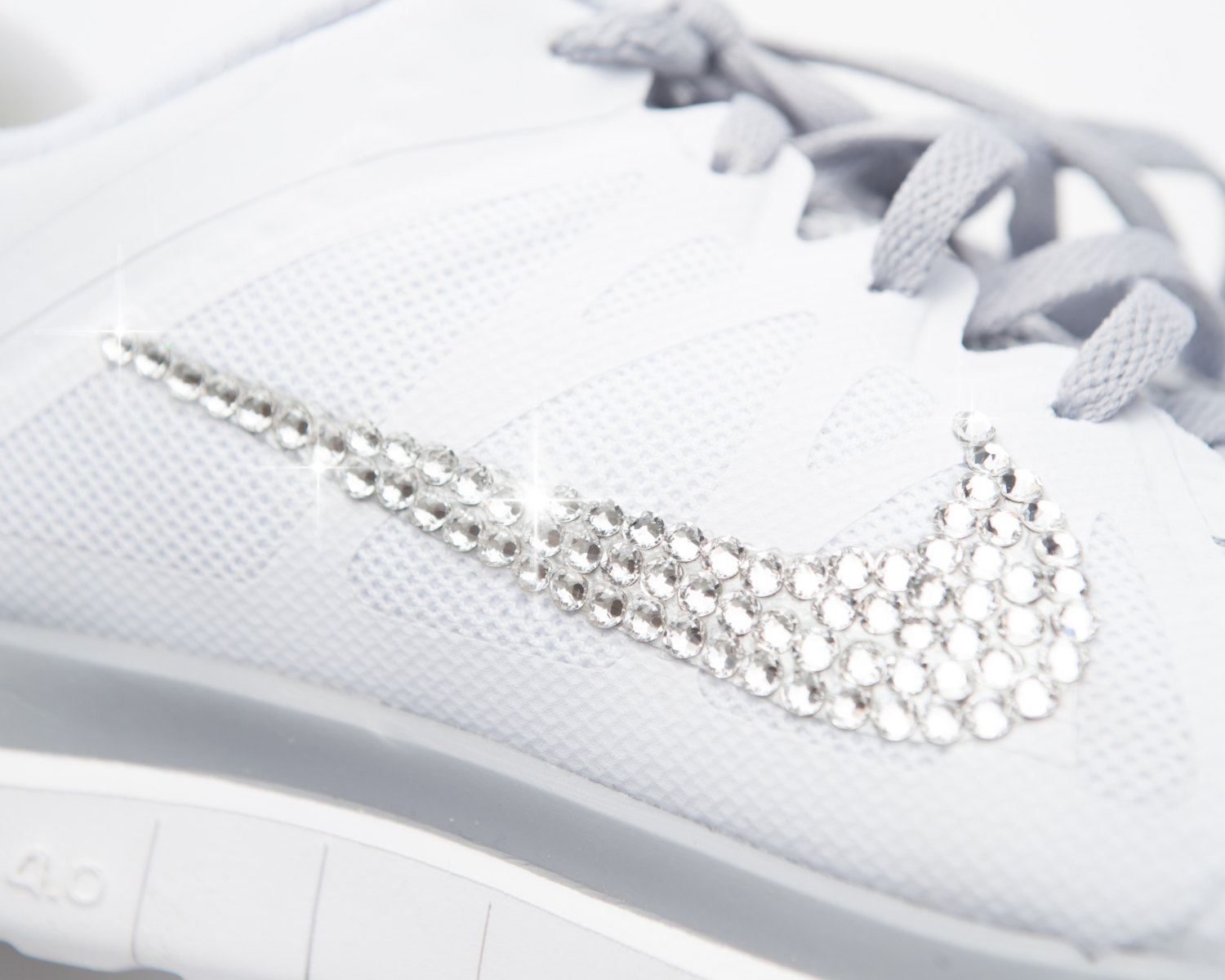 nike free with swarovski crystals