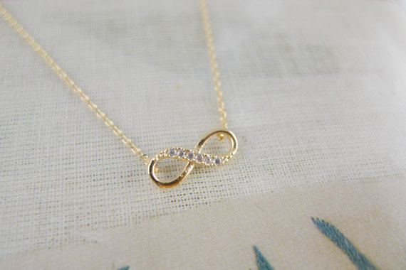 necklace jumbo com forevermom personalized plated infinity gold product