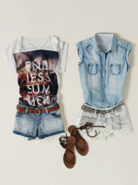 Jeans And Sandals Tumblr Jean Jacket Sandals Tumblr