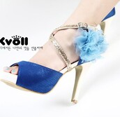 shoes,sandals,blue,kvoll,flowers