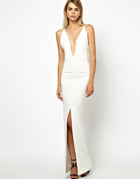 Solace | Solace London Revelation Maxi Dress with Strappy Low Back at ASOS