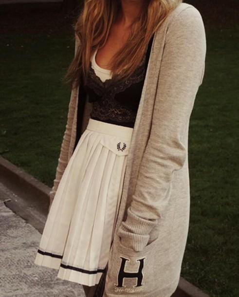 cardigan skirt top tank top dress coat