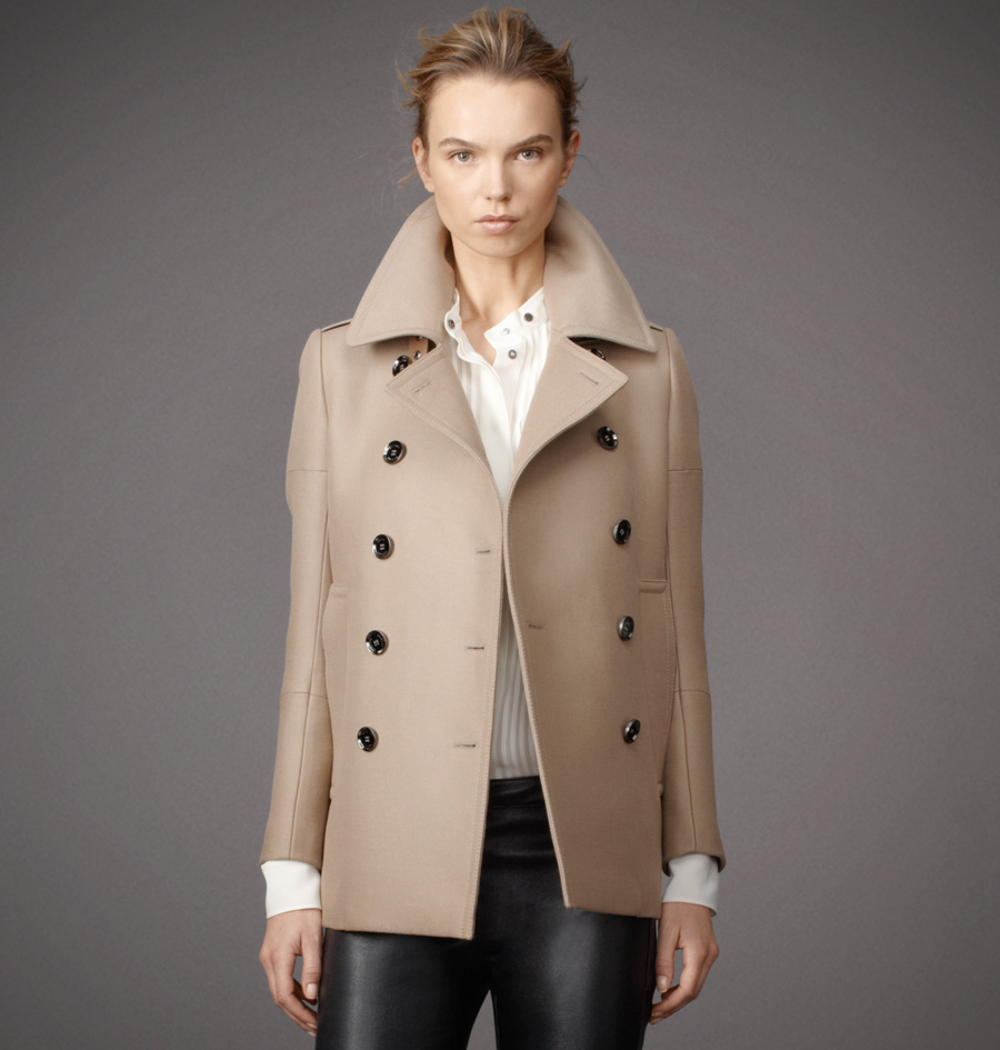 Womens Wool Surrey Coat | Womens Designer Jackets & Coats
