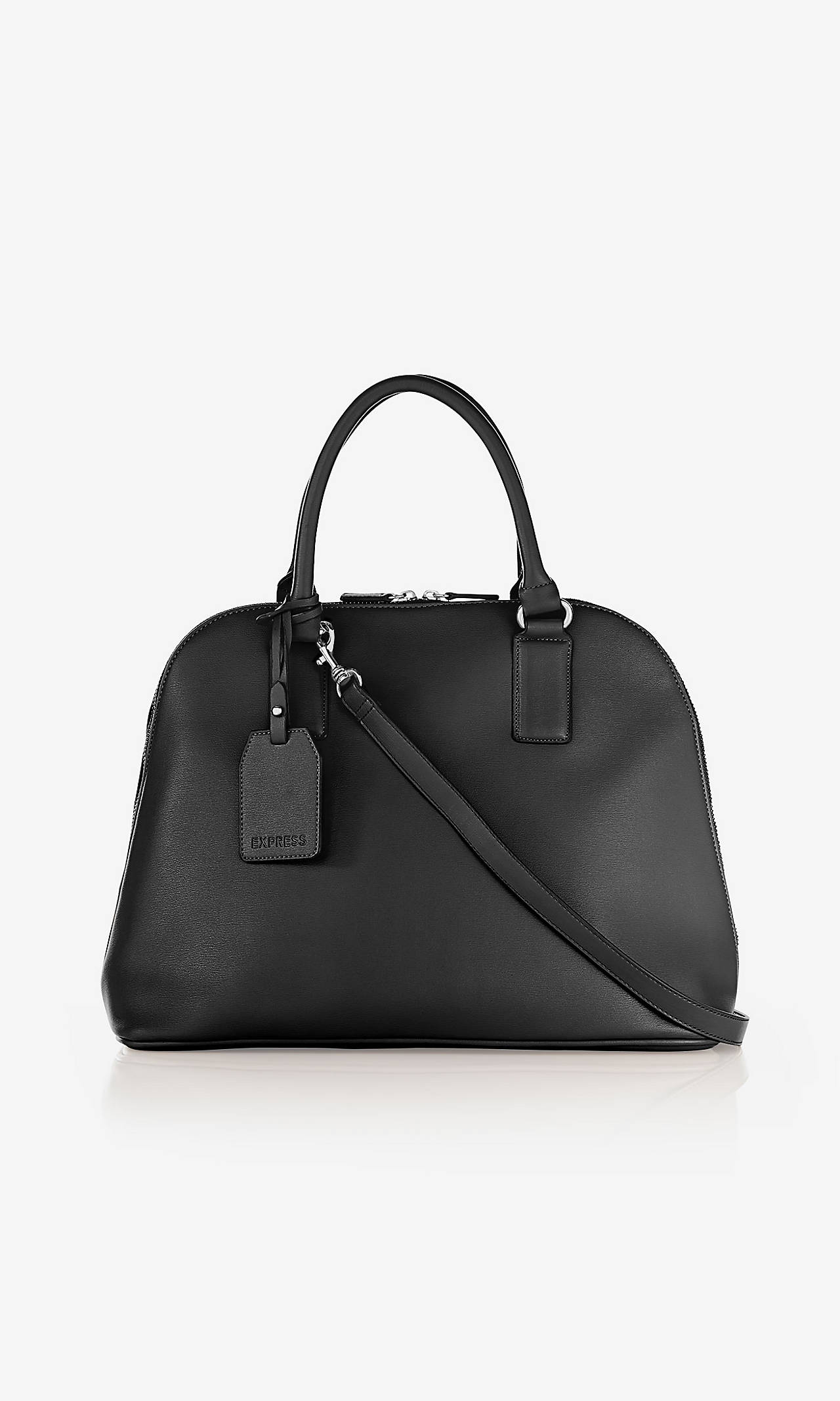 TEXTURED BOWLER BAG from EXPRESS