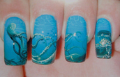 nails,jewels