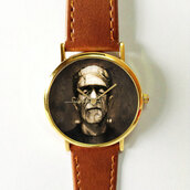 jewels,watch,handmade,style,fashion,vintage,etsy,freeforme,summer,spring,gift ideas,new,love,hot,trendy,horror,frankenstein,scary,classic