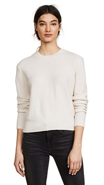 Vince pullover white sweater