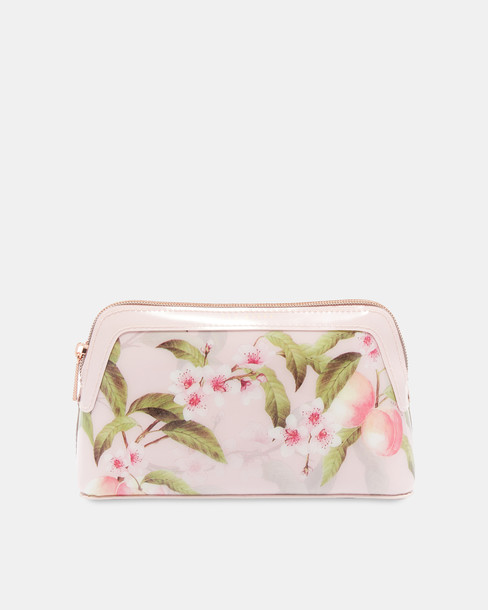 cosmetic bag light pink light bag pink peach