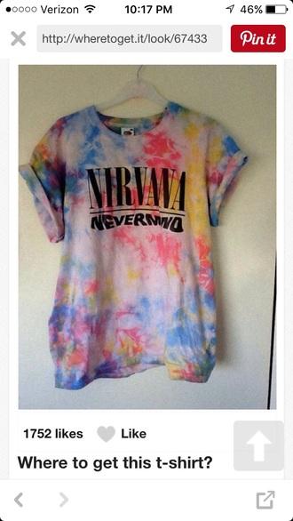t-shirt grunge nirvana