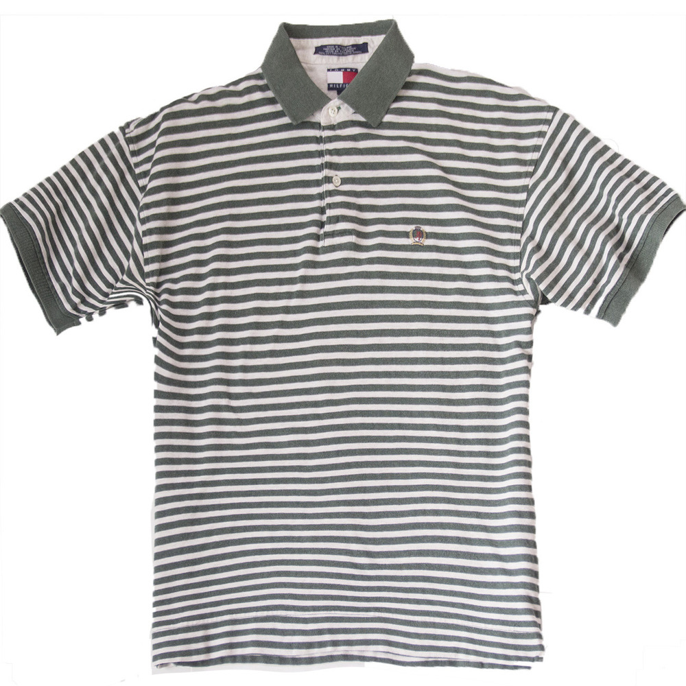 Tommy hiliger striped polo