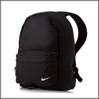 bag black backpack nike tumblr grunge