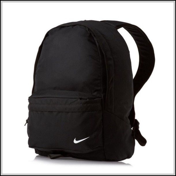 Bag: black, backpack, nike, tumblr, grunge, school bag, black ...